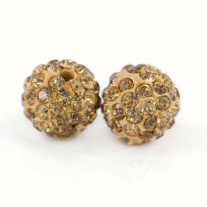 Perle di pietra naturale di modo di vendita caldo di Shamballa per il braccialetto di DIY Formato 6mm, 8mm, 10mm, 12mm 100pcs / bag