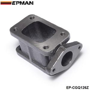 EPMAN-T3 Para T3 + 38mm Ferro Fundido Wastegate Flange Manifold Turbo Adaptador de Carga T3-T4 Adaptador EP-CGQ126Z