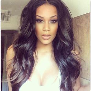 Glueless Silk Top 풀 레이스 가발 Brazilian Hair Full 레이스 Human Hair Wigs Body Wave for Black Women