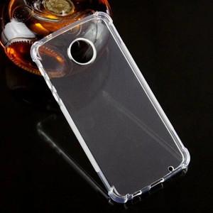 Para Motorola G5 Plus / Moto Z2 Play / Moto G5 Plus / Motorola Caso Um Hiper pele Transparente Crystal Clear Gel macio TPU tampa Silicon