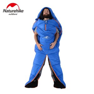 Naturehike Brand Huamnoid Sleeping Bag Dos Specificaitons Four Seasons Adult Sleeping Bags 2016 Nuevo producto