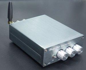 Freeshipping BL10A TPA3116 2.0 Bluetooth 4.0 Hi-Fi Áudio Digital Amplificador de Potência 50W + 50W 12V Terminado Amplificador Início AMP Sliver