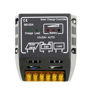 BSV20A BSV 20A CC002 12 فولت / 24 فولت الشمسية لوحة تحكم المسؤول البطارية منظم شحن التحكم الآمن حماية المنزل بالجملة