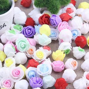 100pcs / lot 크리 에이 티브 버블 헤드 화 환 pectal 꽃 꽃다발 웨딩 드레스 장식 화 환 재료 색 선택