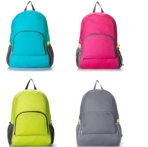HOT sale men & women outdoor travel portable bags folding light weight waterproof backpack sports bag riding skin bag storage backpack