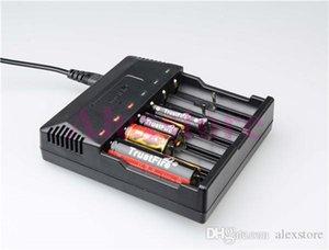 오리지널 트러스트 화재 TR-012 디지털 충전기 trustfire 배터리 충전 (AU US EU UK 플러그가있는 6 개 슬롯 포함) PK tr-j18 tr-001 tr-006 tr-008 DHL