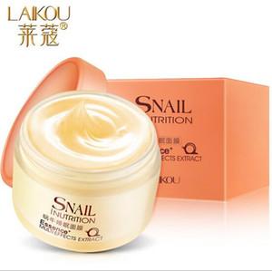 Snail Facial dormir Skin Mask Care Cream rosto adormecido Creme Hidratante