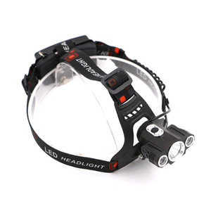 Sanyi 2 1 5000LM 고성능 XML T6 2R2 조정 가능한 LED 자전거 자전거 정면 Flashlight 전조등 램프 순환 전조등 빛