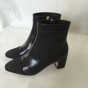 Fashionville * u676 34 bege genuína botas de couro curta mulheres moda outono