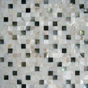 15mm x 15mm MOP shell tile natural color Random pattern bathroom washroom wall tile kitchen backsplash tile#MS017