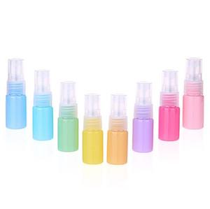 Toptan Ambalaj şişe, 10 ml Maccaron sprey şişesi, PET küçük sprey şişesi, kozmetik ambalaj alt-şişeleme, ücretsiz kargo