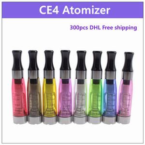 CE4 البخاخة السيجارة الإلكترونية 1.6 مل - ecig vaporizer clearomizer 510 thread لبطارية الرؤية الدوار