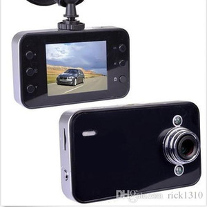 K6000 1080P Full HD LED Gece Kaydedici Paneli Görüş Veicular Kamera dashcam Carcam Video Registrator Araç DVR
