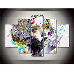 Moda Canvas Printings Psychedelic Woman Wall Art Decorazione domestica Poster Canvas Senza cornice Trasporto libero