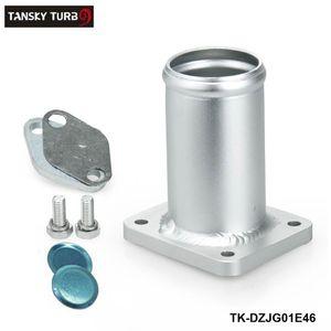 TANSKY - Bypass de supresión de escape de escape de aluminio EGR para BMW E46 318d 320d 330d 330xd 320cd 318td 320td TK-DZJG01E46