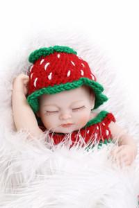 10-дюймовая коллекция Полный силиконовый винил Reborn Reborn Baby кукла Спящая мода для ребенка Рождество и день рождения Подарок Playmate