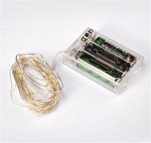 Batterie de LED batterie cuivre chaîne 3 mètres 30 Pearl éclairage de mariage lanterne décorative vitrine de Noël