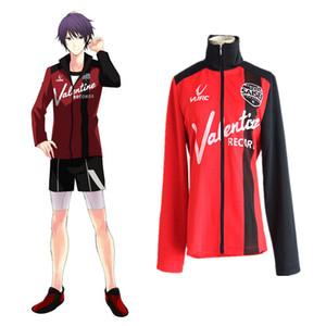 Japanischer Anime Prince of STRIDE Cosplay Suwa Reiji Kostüm / Yagami Tomoe Kostüm für Erwachsene Top Only
