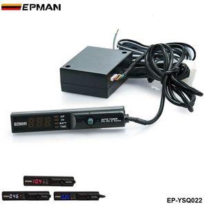 EPMAN Auto Car Blue / Red / White Led Digital Cool Turbo Timer para Turbo NA Negro Pen Control EP-YSQ022
