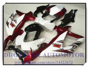 Injection 100% brand new fairing kit fit for Suzuki GSXR600 k8 2008 2009 GSXR750 2008 2009 GSX-R600 GSX-R750 08-09 WHITE RED #75TD3