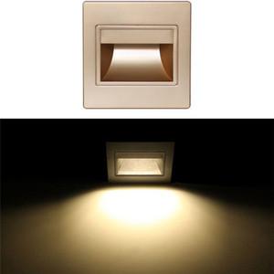 رخيصة مصابيح الجدار الزجاجي بلوري الحديثة الأبيض الدافئ الأبيض Ressessed ساحة ملون LED الأضواء أضواء داخلي لممرات الدرج