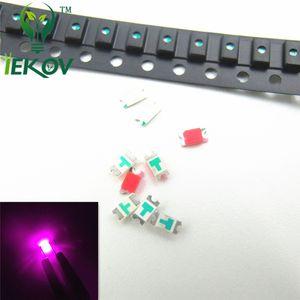 5000pcs / lot Yüksek Kalite 0603 SMD / SMT Chip Pembe LED Bright Light Emitting Car ve oyuncaklar DIY için uygundur Diyot Ultra