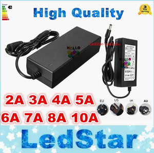 LED адаптер импульсный источник питания 110-240V AC DC 12V 2A 3A 4A 5A 6A 7A 8A 10A 12.5A Led Strip light 5050 3528 трансформатор освещения освещения