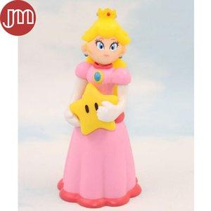 New Super Mario Bros Peach princesa Figuras de acción del anime de Japón muñeca de la historieta de los niños Juguetes Aprox 12 cm / 5