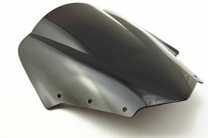 Deflectores de viento de la motocicleta parabrisas del parabrisas para FZ1S 06 07 08 09 10 11 2006-2011 ABS parabrisas negro ENVÍO GRATIS