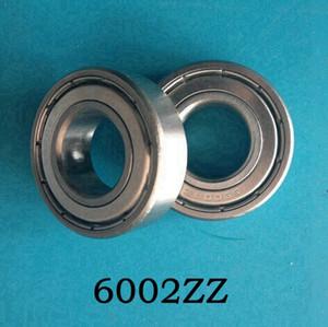 50 pçs / lote 6002ZZ blindado rolamento rígido de esferas 6002 6002Z 15 * 32 * 9 rolamentos de esferas de aço em miniatura 15x32x9mm