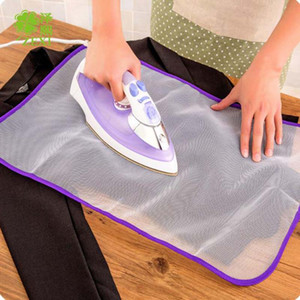Protective Press Mesh Bügeln Tuch Guard Protect Delicate Garment Kleidung 40 * 60cm Mesh Bügeln Pad Tuch Isolation Pad