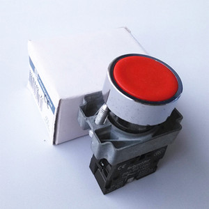 XB2-BA42 1NC New Schneider 660V 10A Heavy duty momentary Red push button press switch High Quality