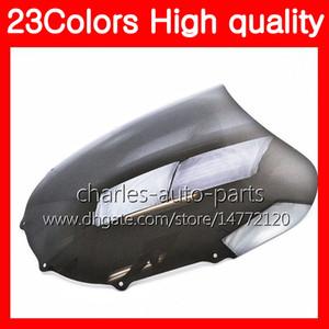 100% Neuf Moto KAWASAKI ZX11R Bonnette Pour 93 94 95 96 97 ZX11R ZX11 ZZR1100 98 99 00 01 Chrome Noir Clair fumée Pare-brise