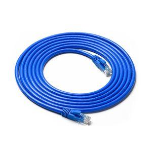 كابل إيثرنت Cat6 2m 3m 5m شبكة الكابل Cat 6 Ethernet Patch Cable Rj45 موصلات أزرق أبيض أخضر أسود أحمر اختياري