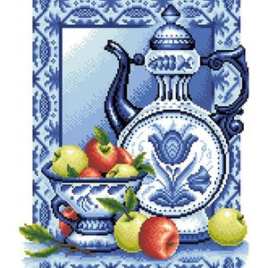 HWH-102 teiera 3d Pittura Diamante Diy home decor Cross Stitch kit mosaico Diamante Ricamo Pittura Decorativa 30X35 CM