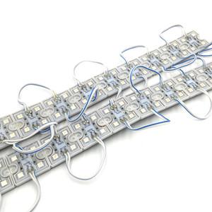 12V DC SMD 5050 4LEDs للماء IP65 LED وحدات الإضاءة الخلفية إعلان الإضاءة الخلفية تسجيل