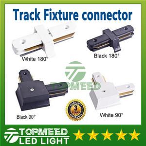 Epacket LED Track Light Rail Connector para cables accesorios de iluminación de pista comercial horizontal de ángulo recto accesorios de aluminio