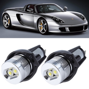 E90 E91 10W 3 Series 325i 328i 325xi 328xi 330i 06-08 Excellent Quality xenon white LED Angel Eyes Halo Light bulb No Error