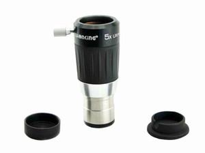 Visionking High-Power 5x 4-Element-Teleskopokulare Vollvergütete Barlowlinse für 1,25-Zoll-Teleskop-Okular-Metallgehäuse
