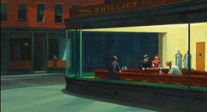 Эдвард Хоппер Ночные ястребы Жикле Холст Картины Стены Искусства На Холсте Высокого Качества нескольких размеров Бесплатная Доставка berkPr094