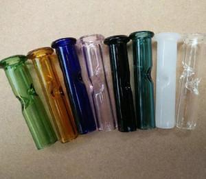 Красочный Кипарис Холм Phuncky чувствовать себя стеклянный фильтр круглый наконечник OEM ODM принято табак сухой травы фильтры длина: 5 см