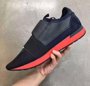Yeni Yarış Koşucular Mükemmel quatily Mens Eğitmenler Dantel-Up rahat ayakkabı kutusu ve toz torbası Ile Ücretsiz kargo Boyutu 35-46