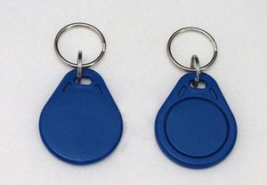 Cheapest Factory prices High Quality EM4100 125khz 100pcs lot ISO11785 ABS RFID Printed Plastic Personalized Key Tags