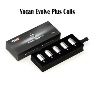 정통 Yocan Evolve 플러스 코일 Yocan Coils QDC 코일 E Cigarettes Replacement Coil Yocan Evolve