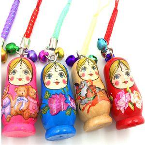 2016 venta caliente mini muñeca rusa con artesanía de madera regalo de la muñeca del regalo del recuerdo del turismo accesorios