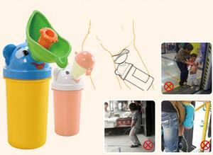 Ragazzi ragazze portatile del fumetto del capretto bambini orinatoio auto viaggio secchio toilette vasino formazione pipì campeggio urina bottiglie unisex