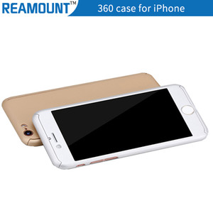 360 grau de cobertura total com protetor de tela de vidro temperado híbrido capa protetora case para iphone 7 7 plus mobile phone case