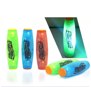 Çubuk Stres Rahatlatıcı Masaüstü oyuncak rollver 2017 LED Mokuru Fidget Yenilikçi Aydınlık spinner Dekompresyon Plastik Gag Oyuncak El Spinner mobar
