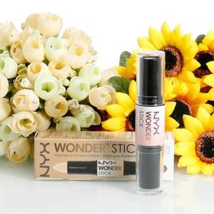 Contorno de doble extremo NYX Wonder Stick Foundation Hide Blemish Dark Circle Cream Corrector Base Líquido Contorno Camuflaje Marca de cosméticos