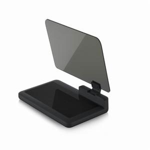 Head Up Display H6, Car HUD Phone GPS Navigation Riflettore di immagini per auto, supporto universale universale per cellulare